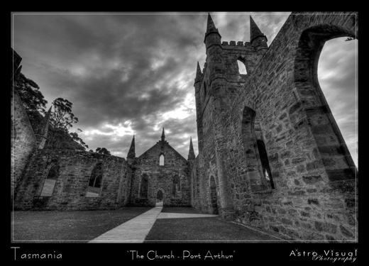 Tasmania - 'The Chrurch Port Arthur' by Mad Aussie