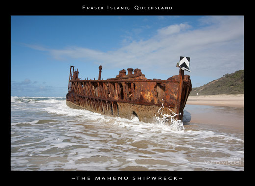 The Maheno Shipwreck by Mad Aussie (Astrovisual)