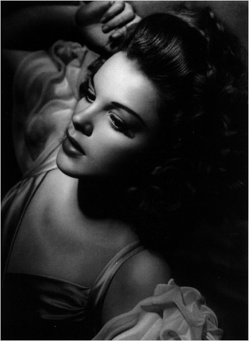 Judy Garland by George Hurrell - 1944